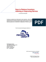 10 Ways to Reduce Inventory