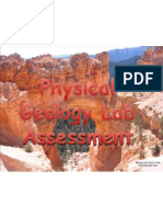 physical geology lab assessment