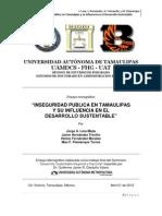 T.FINALCOMPLETO. Inseguridad Pública Tamaulipas y influencia en Desarrollo Sustentable.18.4.12