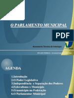 o Poder Legislativo Municipal Janary Carvao