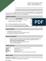 Azad New Resume