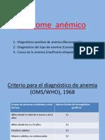 Sindrome Anemico Junio 2011 - Copia