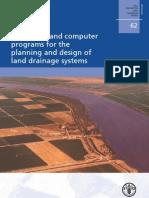 Guia y Programas de Calculo para la Planificacion y Diseño de Sistemas de Drenaje de Tierras