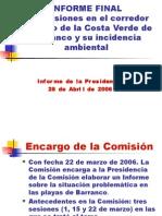 Informe Final Barranco congreso
