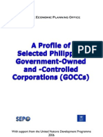 A Profile of Selected GOCCs