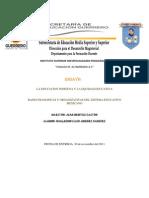 La Educacion Indigena y La Equidad Educativa Enzayo de Bases Flosoficas