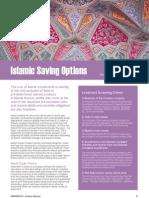 Islamic Saving Options