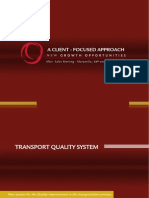 Transport Quality System