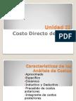2.- Unidad-II-Costos-CostoDirecto