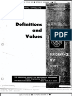 PTC 2 Definitions & Values
