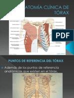 ANATOMÍA CLÍNICA DE TÓRAX