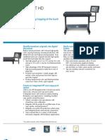 Brochure of HP Designjet HD Scanner