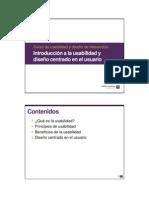 01. Introducción a la usabilidad y diseño centrado en el usuario