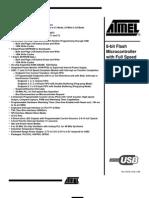 Datasheet 1ATMEL Microcontroler