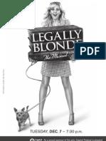 Legally Blonde Program
