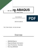 Abaqus Tutorial Part1