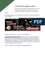 federation francaise Boxe anglaise en direct