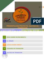 Presentación Decrecimiento y Transición en Huesca