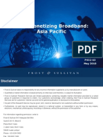 Monetizing Broadband in APAC