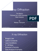 Microsoft Power Point x Ray Diffraction