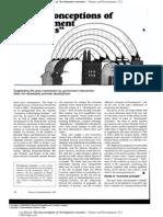 Deepak Lal - Misconceptions of Development Economics