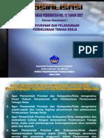 Bahan Tayang Sosialisasi PP 15 Th 2007 - FINAL