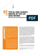 ECFR_The EU and Human Rights at the UN 2010 Review