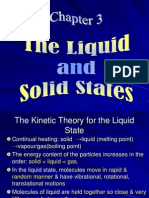 Chapter 3, Solid & Liquid
