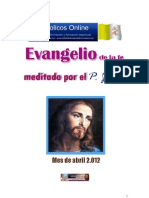 Evangelios Abril 2012
