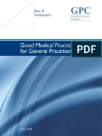 PDS Good Medical Practice for GPs July 2008