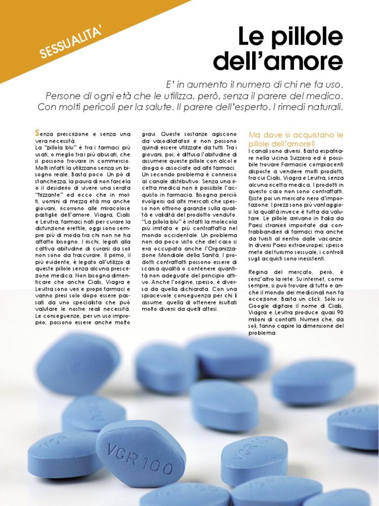 farmaci per disfunzione erettile senza ricore