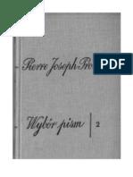 PROUDHON - Pisma Wybrane Tom 2