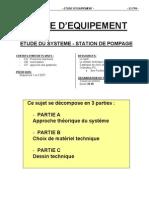 Etude Equipement - Questions