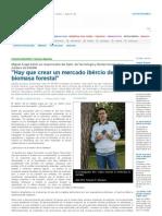 Entrevista sobre biomasa y su futuro