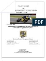 Final Internship Report on Employee Engagement