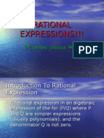 Rational Expression Power Point