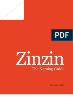 Zinzin Naming Guide