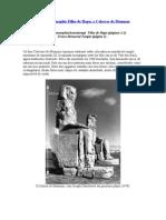 O Colosso de Memnon