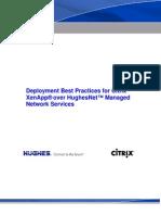 Deployment BPs Citrix XenApp Over Hughes Satellite Networks - Final v41