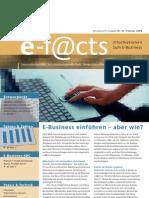 E-Facts 3 - E-Business einführen, aber wie?