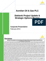 Aurelian Corporate Presentation 010212