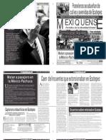 Versión impresa del periódico El mexiquense 19 abril 2011