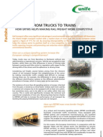 ERTMS Facts Sheet 1 - From Trucks to Trains