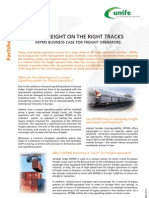 ERTMS Facts Sheet 11 - Rail Freight on the Right Tracks
