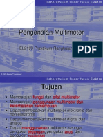 Pengenalan Multimeter