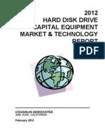 2012 HDD Capital Equipment Market &Technology Report 021112