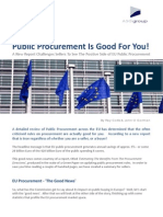 EU Public Procurement Review