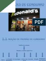 Padrões de Consumo