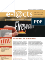 E-Facts 8 - Sicherheit im E-Business