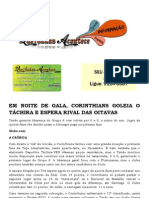 EM NOITE DE GALA, CORINTHIANS GOLEIA O TÁCHIRA E ESPERA RIVAL DAS OITAVAS